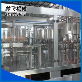 张家港热销供应 三合一生产线 饮用水三合一灌装机 食品灌装机