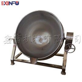 高搅拌夹层锅,电磁加热炒锅