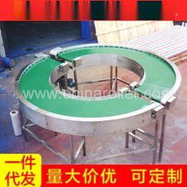专业供应 移动式皮带机 带式输送机皮带机 180度动力皮带机