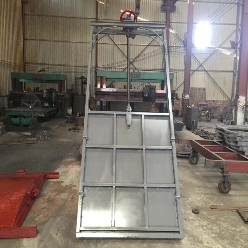 渠道钢制闸门 泵站钢制闸门 耐水压钢制闸门