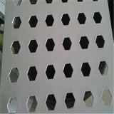 六边形冲孔网 冲孔网 钢板冲孔网 不锈钢冲孔网