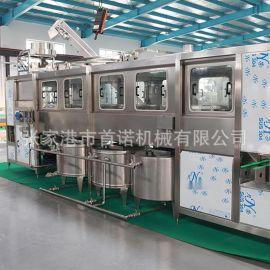 桶装水灌装机 5加仑纯净水矿泉水全自动灌装生产线设备