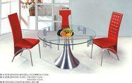 多功能钢化玻璃餐桌(A020)