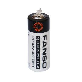 武汉孚安特ER18505H锂亚容量型3800mah智能水表专用3.6v一次性锂电池