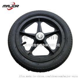 12 寸橡胶充气轮 儿童平衡车轮 童车轮