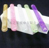 長款納米玻璃指甲銼 閃粉滴膠拋光條 盒裝小巧