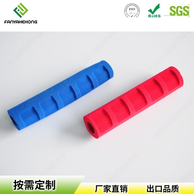 江蘇廠家直銷健身器材海綿握把NBR橡膠防滑套