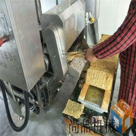 煎饼果子薄脆脆皮油炸机生产线厂家 薄脆油炸机