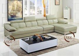 广东转角沙发真皮沙发皮质沙发