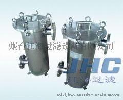 江海過濾器—袋式過濾機結構及工作原理