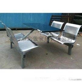 广东深圳北魏家具不锈钢餐桌椅厂家直销
