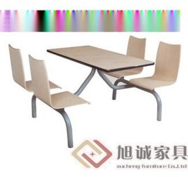 连体快餐桌椅,分散快餐桌椅组合,奶茶店餐桌椅尺寸