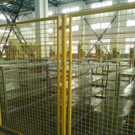 车间仓库隔离网批发 工地工厂边框围栏网生产厂家 浸塑围栏网 颜色定做