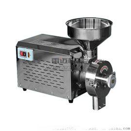 不锈钢干磨 五谷杂粮磨粉机商用打粉机雷迈机械