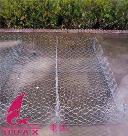 河床铺砌双隔板格宾网、河道治理雷诺护垫、水利建设石笼网