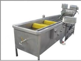 供应蔬菜清洗机 鼓泡式蔬菜清洗机 汽浴鼓泡蔬菜金针菇清洗机
