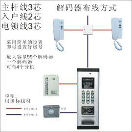 非可视楼宇对讲 对讲门铃 对讲电话 小区楼宇对讲系统