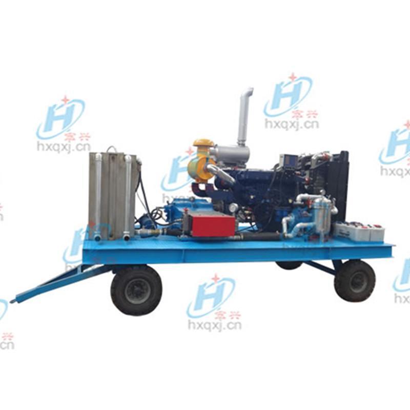 供應移動式高壓冷水沖洗機 工業高壓水槍沖洗機 河南宏興