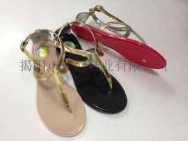 2015新款凉鞋揭阳厂家供应女款罗马风格凉鞋