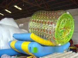供应大型充气玩具,充气沙池,水上乐园休闲游乐产品充气透明滚筒透明球