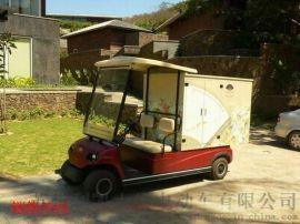 敞开式4座电动高尔夫球车,景区四轮电动观光车