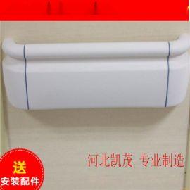 低价供应医用走廊扶手PVC防撞扶手,免费送弯头支架