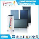 厂家直销专业生产高效节能ISO9001认证高品质平板太阳能热水器