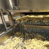 加工速凍土豆條成套設備優勢 D12土豆條油炸生產線