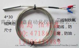 潍坊PT100温度传感器厂家 探头式热电阻非标