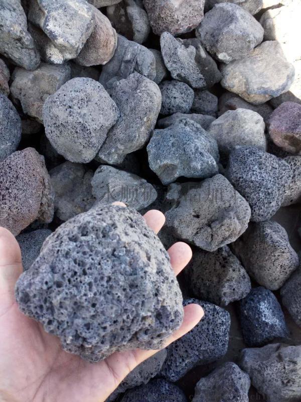 張家口火山石廠家,永順紅色火山石報價