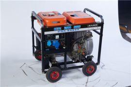 小型家用5千瓦柴油发电机体积