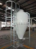 畜牧養殖系列自動料線供料存儲玻璃鋼料塔