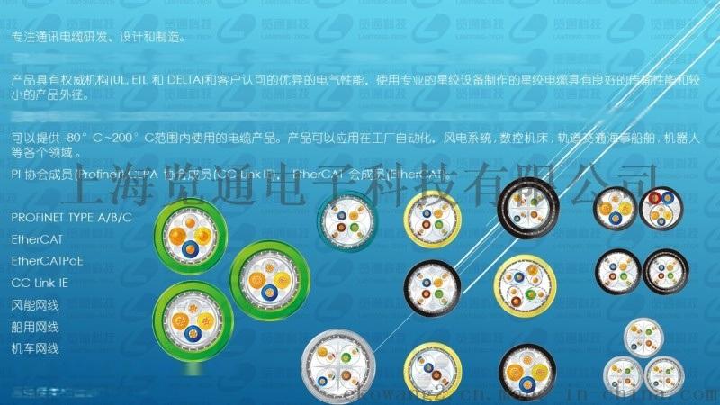 EtherCAT工业以太网总线电缆