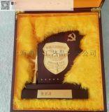 深圳厂家订做木质徽章盾牌 八一部队退伍盾牌订做礼品