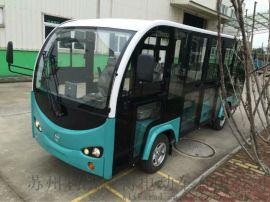 G20电动接待车 十四座电动观光车T14-M全玻璃