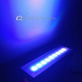 9顆3w三合一洗牆燈 戶外防水景觀洗牆燈 鑄鋁洗牆燈