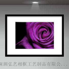 黑白色现代简约 人物**/艺术照相框 35MM特厚纯实木的 摄影相框
