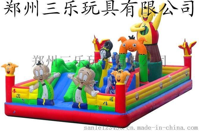 黑龍江兒童充氣城堡遊樂設備