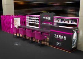 供应密度板美甲展示柜 亮光烤漆美甲展示架