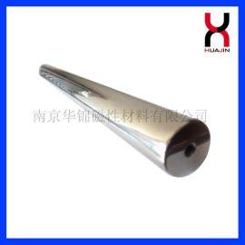南**锦 N30-N52 钕铁硼不锈钢磁铁棒 高强磁力棒 **强磁除铁棒定制