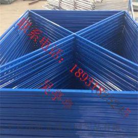 工地高空施工防护提升架网片 镀锌板冲孔爬架网