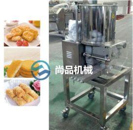 肉饼成型机 鸡肉饼成型机 肉饼凃裹生产线