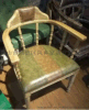 胡桃里餐厅餐椅 美式乡村工业风大圈椅 可定制