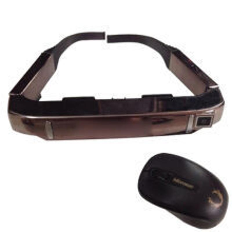 3D无线WIFI 蓝牙智能头戴显示器VR一体机游戏视频眼镜头盔安卓