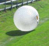 戶外拓展充氣翻滾球雪地悠波球趣味碰碰球親子互動遊樂充氣滾筒廠