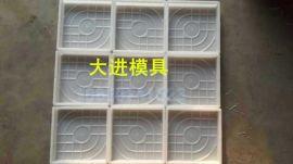 供应彩砖模具_西班牙系列_边长25cm、30cm、40cm