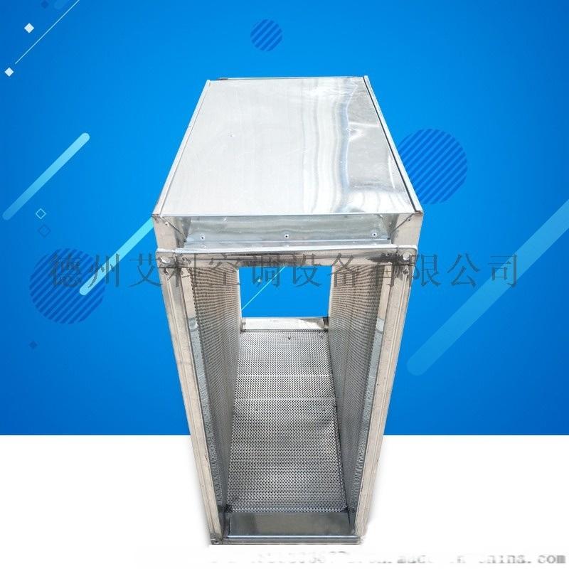 定制镀锌板消声静压箱 阻抗式复合消声器