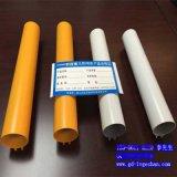 型材铝圆管 凹槽铝圆管规格 济宁铝圆管供应商