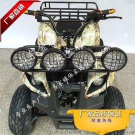妇孺皆知亲子卡丁车中型沙滩车四轮摩托车雪场游乐设备