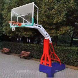内蒙古包头篮球架厂家 移动式、地埋式篮球架厂家